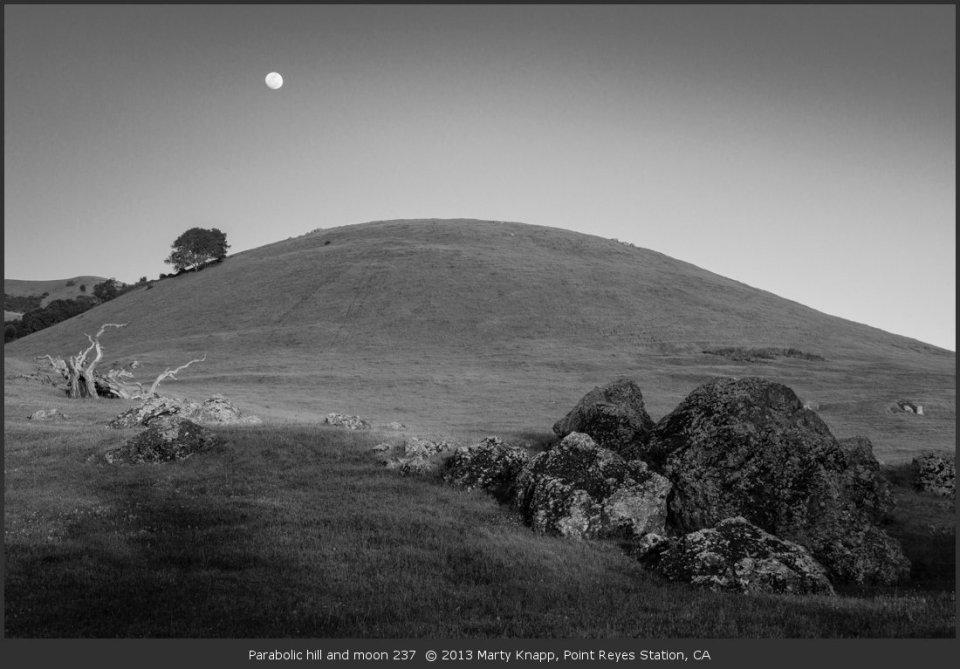 Parabolic hill and moon 237