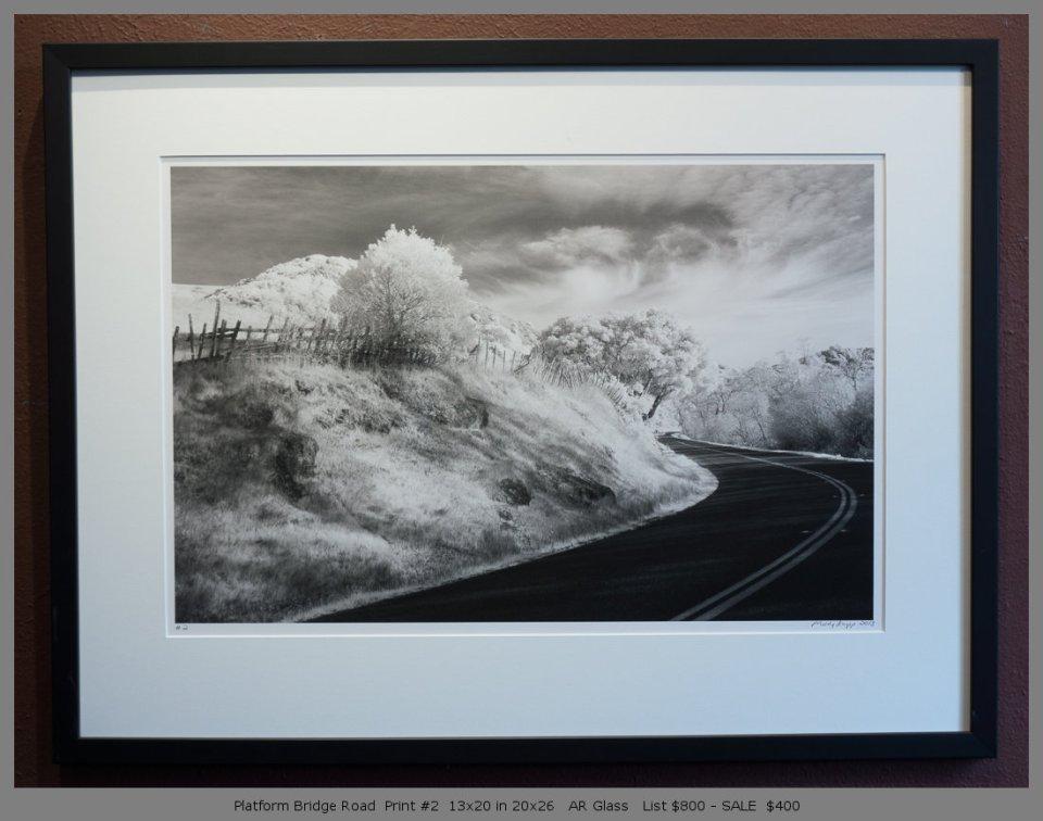Platform Bridge Road  Print #2  13x20 in 20x26   AR Glass   List