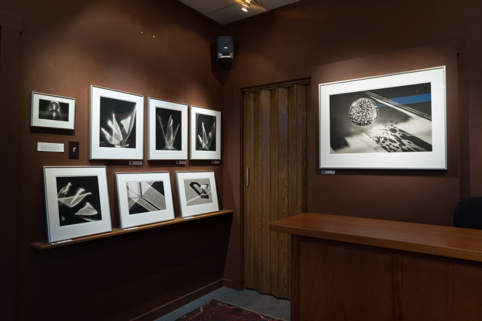 South corner, flare photographs